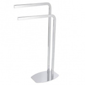 Showerdrape Optima Chrome Towel Stand