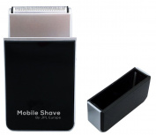 JPL Mobile Battery Operated Travel Shaver, Black
