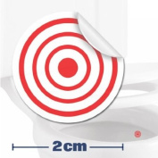 Toilet Training Sticker - 10 x Target Stickers