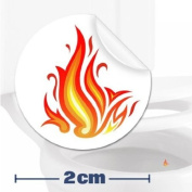 Toilet Training Aid For Children Toddlers Boys Funny Bathroom Restroom Potty Urinal Trainer 10 x Flames Target Stickers