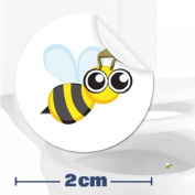 Toilet Training Aid For Children Toddlers Boys Funny Bathroom Restroom Potty Urinal Trainer 10 x Bee Target Stickers
