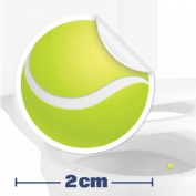 Toilet Training Aid For Children Toddlers Boys Funny Bathroom Restroom Potty Urinal Trainer 10 x Tennis Ball Target Stickers