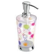 InterDesign Doodle Soap Pump, Clear/ Chrome, 300ml