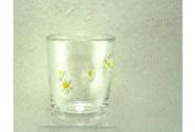 Glass Daisy Tumbler By Gisela Graham