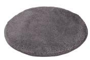 Kleine Wolke Relax 5405901307 Bath Mat 60 cm Round Anthracite
