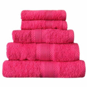 Catherine Lansfield Cl Home Bath Towel, Hot Pink