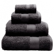 CL Home 100% Cotton 450gsm Bath Towel, Grey