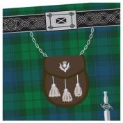 Black Watch Tartan Kilt Towel