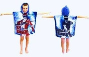 Power Rangers Overdrive Hooded Poncho Towel