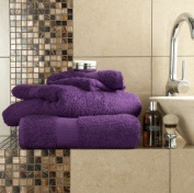 100% Egyptian Cotton Luxury Bath Towel Purple Top Quality Thick Absorbent 700gsm