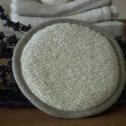 Cream Linen Body Pad Terry