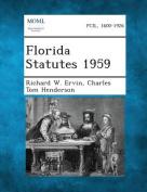 Florida Statutes 1959