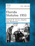 Florida Statutes 1953