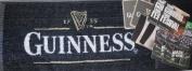 Guinness Bar Towel & 10 Mats