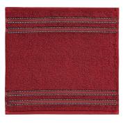Vossen Cult de Luxe 1153240390 Facecloth / Flannel 30 x 30 cm Ruby