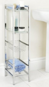 Bathroom Slim Line Storage Tower