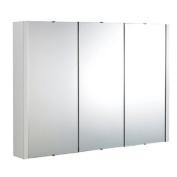 Minimalist 900mm Mirror Cabinet with 3 Doors