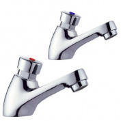 Self Closing Auto Off Water Saver Basin Taps by Grand Taps UK