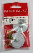 One and Three Quarter inch, 4.4cm , Bath/Sink Plugs, Two in a pack