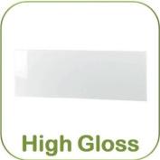 4' Small Double White High Hi Gloss Headboard