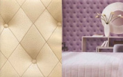 Galerie Illusions Feature Wallpaper Leather Headboard Effect Beige LL29572
