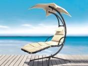 Azuma Natural Dream Chair Swing Hammock Garden Furniture Sun Seat Canopy Relaxer