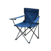 Folding canvas chair with arms ideal for fishing camping beach etc