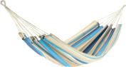 Jobek Joia 25341 Hammock JobekCord Striped Blue Light Blue Brown Beige