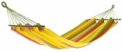 Jobek 25325 Duracord Alegria Rod Hammock Yellow/Green/Pink Stripes