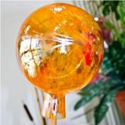 Garden sphere from glass orange