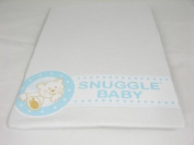 Snuggle Baby White Fitted Moses Basket Sheets