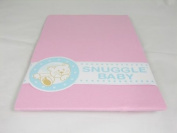 Snuggle Baby Pink Fitted Moses Basket Sheets