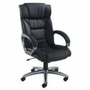FF Arista Executive Leather Chair Black