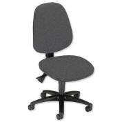 Sonix Alpha Operator Chair Asynchronous High Back Seat W480xD450xH450-580mm Shadow Grey