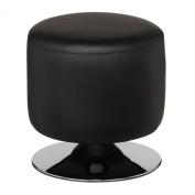 Premier Housewares Cylinder Stool, Black