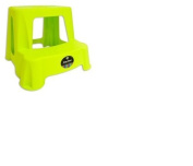 Plastic 2-Step Small Sturdy Foot Step Stool - One Stool Supplied