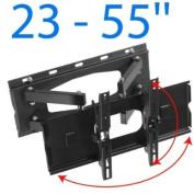 Nemaxx SK05 Wall Mount Bracket for LCD LED and Plasma TVs - 23'-55' - Black