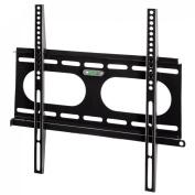 Hama - LCD/Plasma Wall Bracket Slim Fix Size Medium - Black