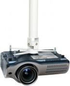 Vision Tm-1200 Techmount Projector Ceiling Mount, White, Fits Most Projectors...