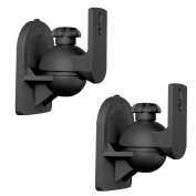 Brateck SB-2B Speaker Wall/Ceiling Mounts