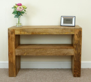 Mantis Solid Mango Wood Console Table / Hall Table