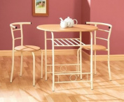 Greenhurst Compact Dining Set with White Frame