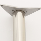 Hartleys 60mm Under Table Leg Mounting Plate Adaptor for Worktop/Breakfast Bar/Desk