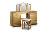 Julian Bowen Pickwick Twin Pedestal Dressing Table