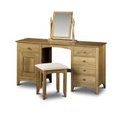 Julian Bowen Kendal Twin Pedestal Dressing Table