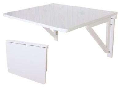 wall mounted drop leaf table folding dining table desk. Black Bedroom Furniture Sets. Home Design Ideas