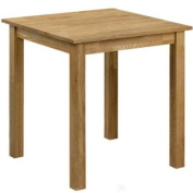 Coxmoor Dining Table - Solid oak, oiled finish - Square
