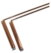 Pair of Dowsing Rods with Handles