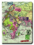 Wild and Wolf Map Passport Cover