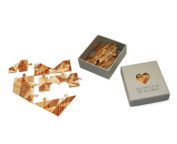 Luckies of London You Complete Me Jigsaw Heart